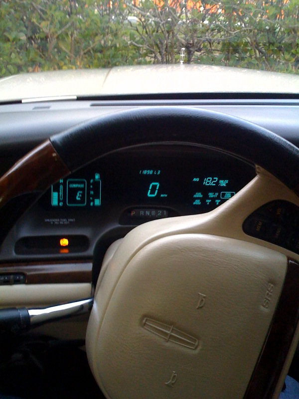 1996+lincoln+town+car+interior