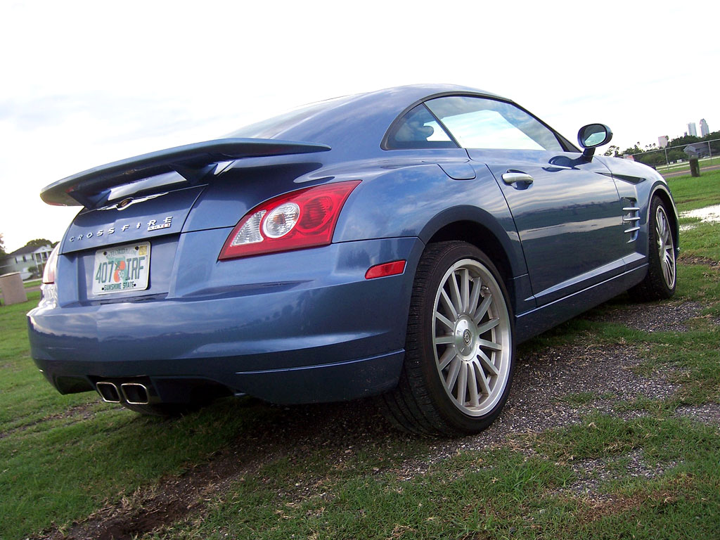 The Chrysler Crossfire Misadventure Car And Truck Reviews 2005 Wiring Harness You Could Call Styling Cartoonish Would Be Right Its Also Childishly Satisfying Like A Bright Yellow Hummer I Favor Looks